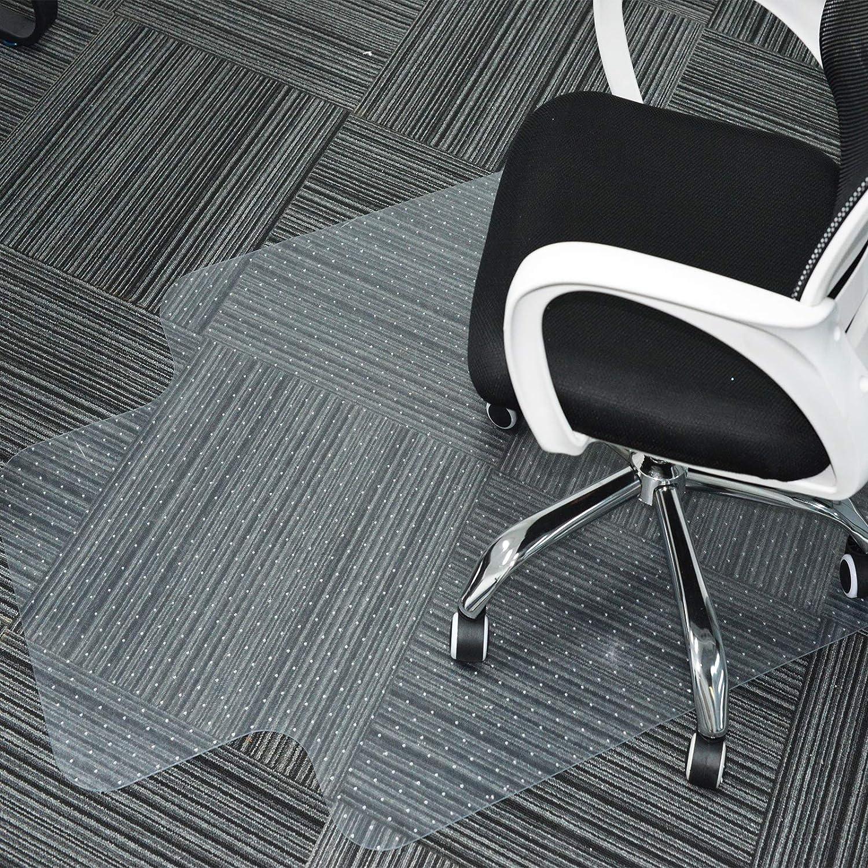 자 매트 사무실 의자 매트 양탄자를 위한 보호자와 입술을 스터드 장식 45X53PVC 강한 충격 저항에 효과적인 그립 튼튼한 청소하게 쉬운