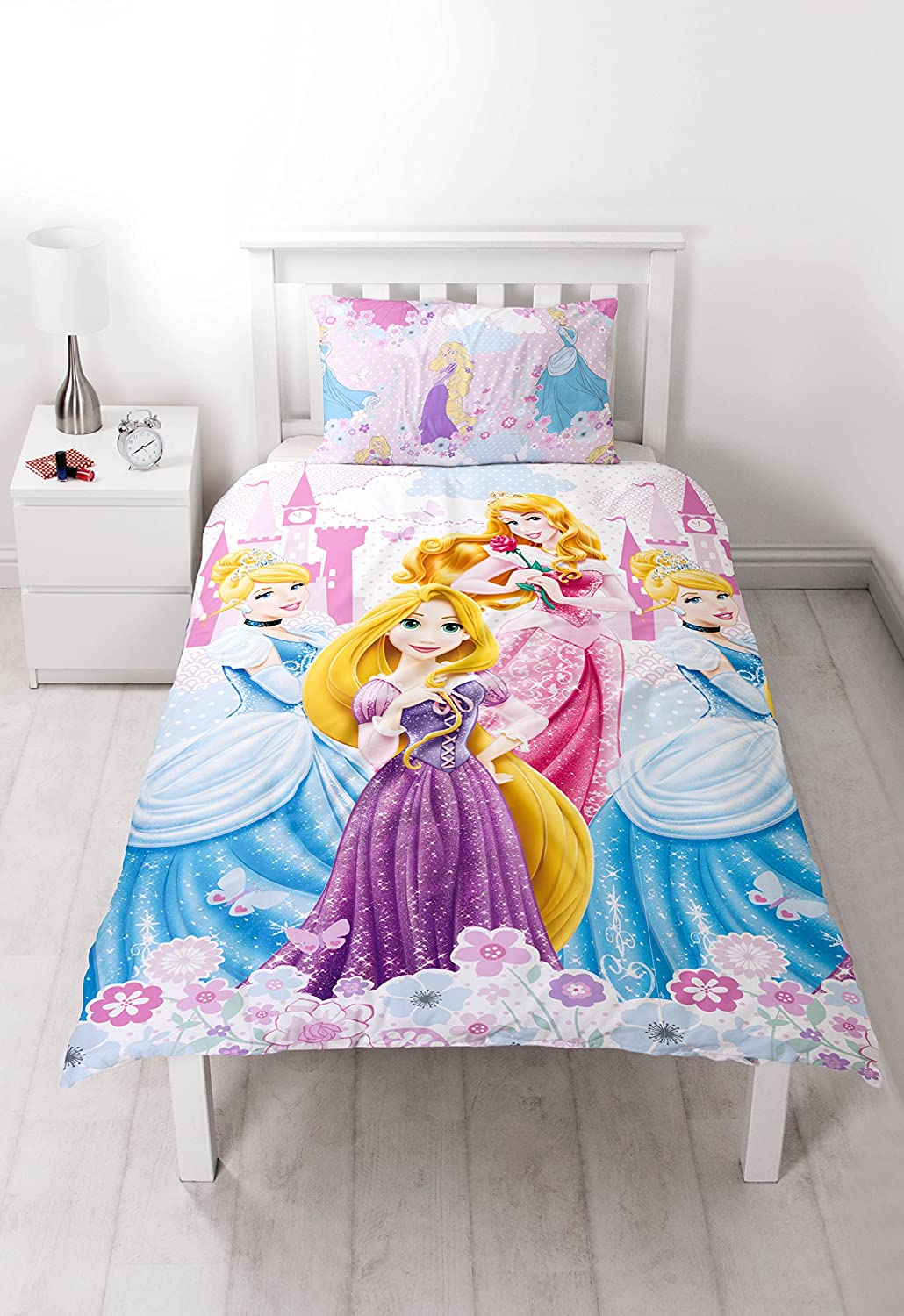Time 4 Dreams Copripiumino.Single Disney Princess Dreams Duvet Cover Set Amazon Ca Home