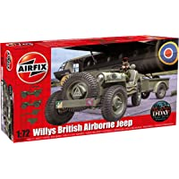 Airfix Willys Jeep, Trailer & 6PDR Gun - 1:72 Scale Model Kit