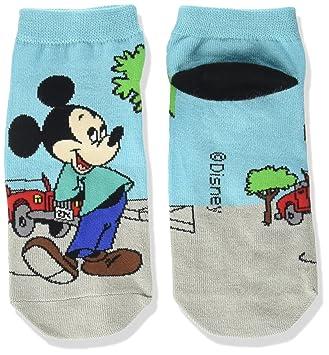 calcetines calcetines de Disney Mickey Mouse Mickey sucesiva 4 de color gris azulado 22‡p ~ 24cm AWDS2960: Amazon.es: Juguetes y juegos