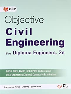 Buy objective type questions answers in civil engineering for objective civil engineering for diploma engineers 2016 fandeluxe Gallery