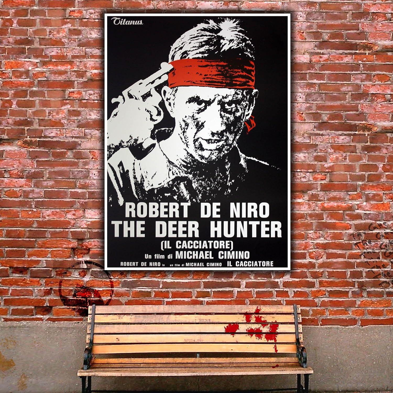 The Deear Hunter Robert De Niro Movie Poster Il Cacciatore Size:70x100 CM