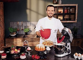 KRUPS Master Perfect Gourmet Robot de cocina, 1100 W, 4.6 litros, acero cepillado, plata: Amazon.es: Hogar