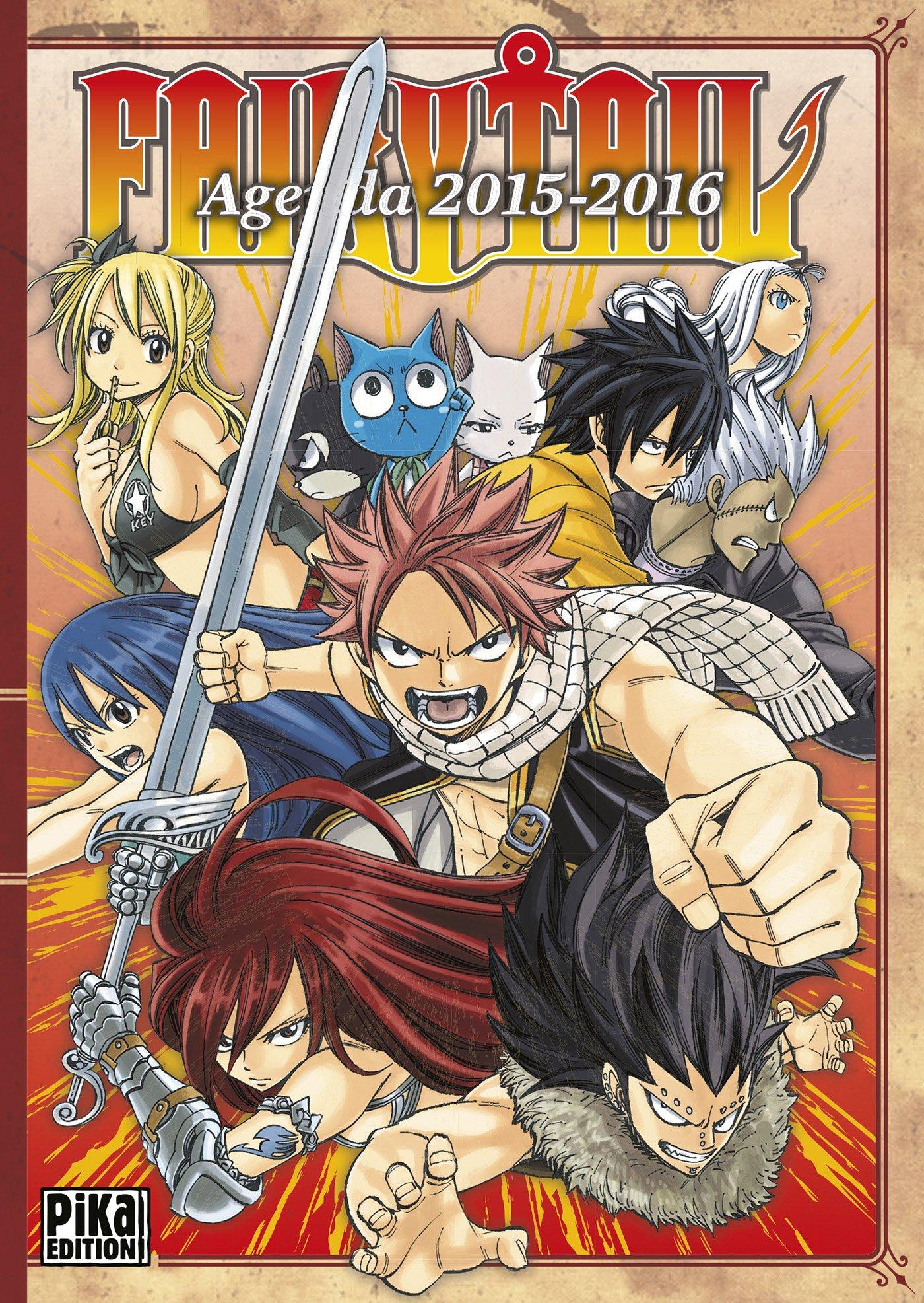 Agenda Fairy Tail 2015-2016: 9782811619350: Amazon.com: Books