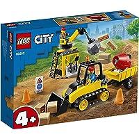 LEGO City Great Vehicles 60252 Construction Bulldozer Building Kit (126 Pieces)