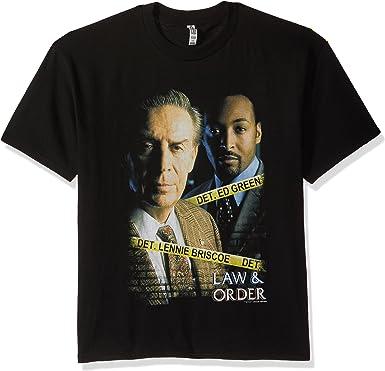 Trevco Mens Law /& Order Logo T-Shirt