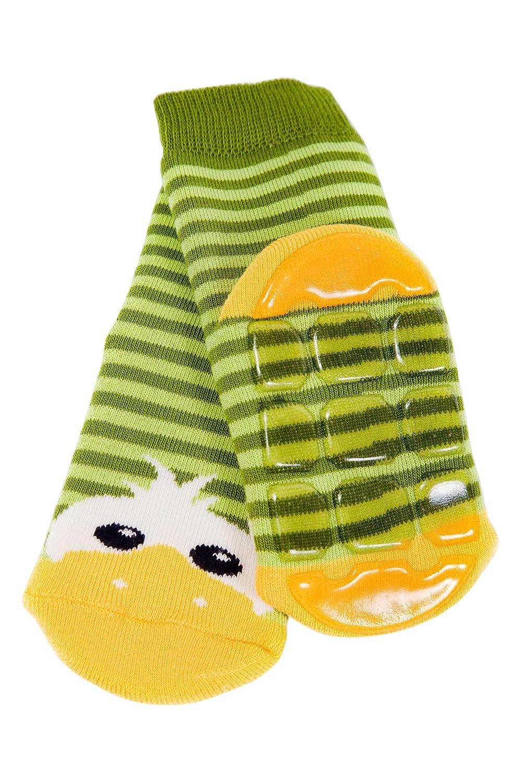 Weri Spezials ABS Pantoufle Chaussons Chaussettes Antiderapants 0-3 Mois 13-14 Vert