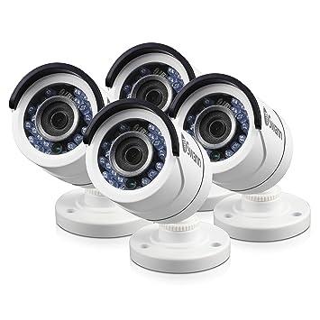 Juego de 4 cámaras de seguridad PRO-T853 multiusos para día y noche, de Swann: Amazon.es: Electrónica