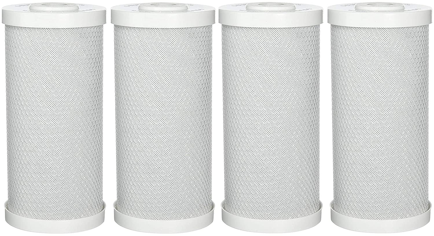 Hydronix CB-45-1010 Whole House or Commercial NSF Coconut Activated Carbon Block Water Filter 4.5 x 10-10 Micron 4.5 x 10-10 Micron