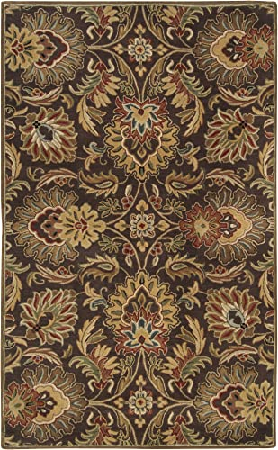 Surya Caesar 8-Feet by 11-Feet 100-Percent Wool Hand Tufted Area Rug