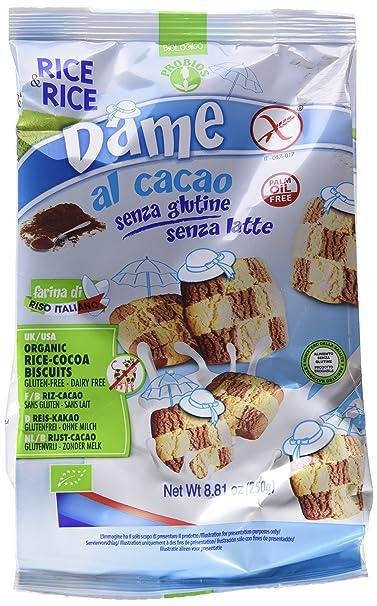 Probios Rice&Rice Galletas de Arroz Al Cacao - Paquete de 10 x 250 gr - Total