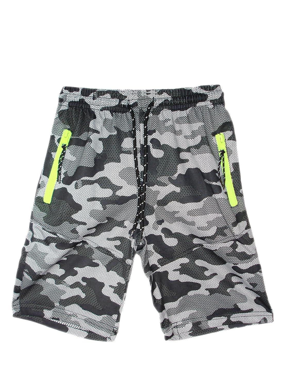 G/én/érique Gar/çons NY New York Brooklyn T-Shirt Haut Camouflage Army Camo Shorts Set 3-14 Ans