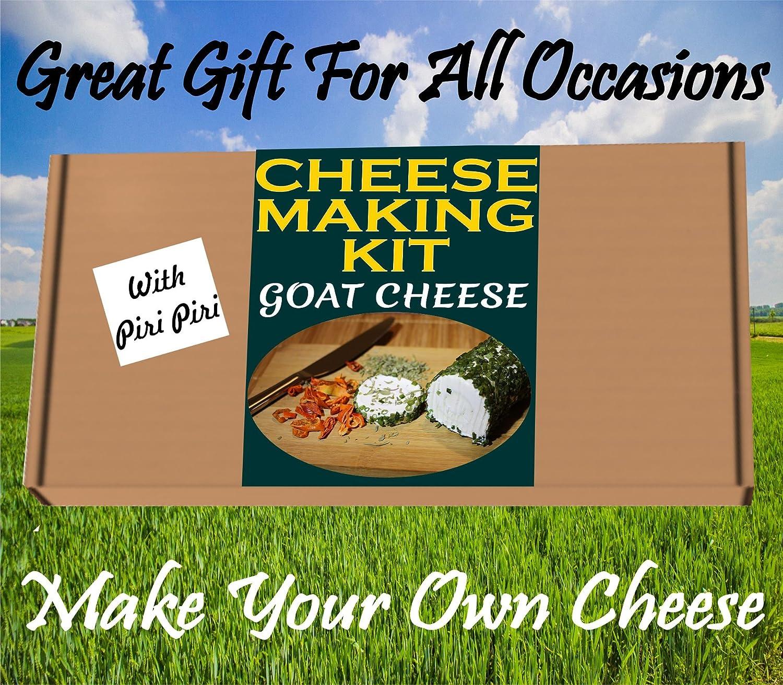 Kit superior para hacer queso, queso de cabra, gran objeto de regalo, haz tu propio queso piri.