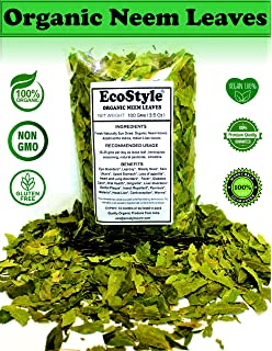Amazon com: Neem Leaves Whole, Wild Harvested Shade Dried