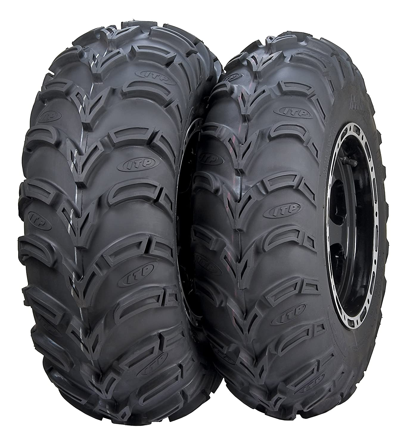 2 - 25x8-12 6 ITP Mud Lite AT ATV ​​Reifen