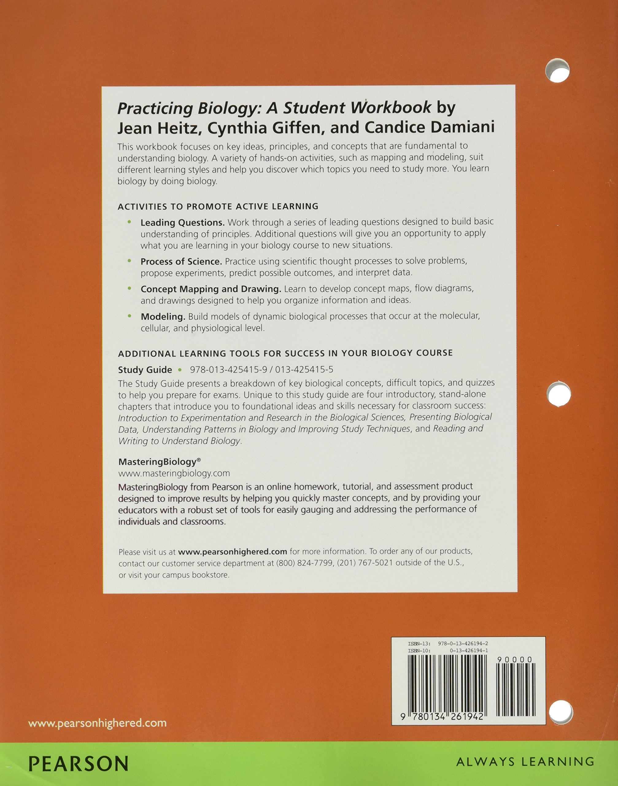 Practicing biology a student workbook for biological science amazon co uk scott freeman kim quillin lizabeth allison michael black greg podgorski