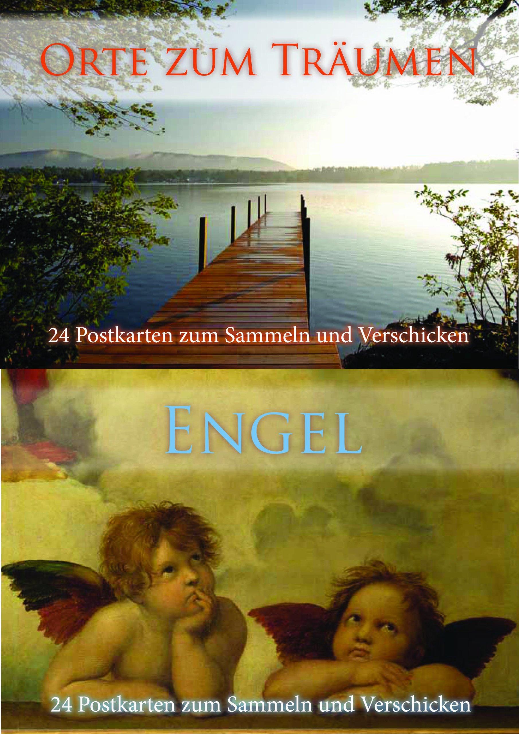 Postkartenbuch besondere Orte/ Engel