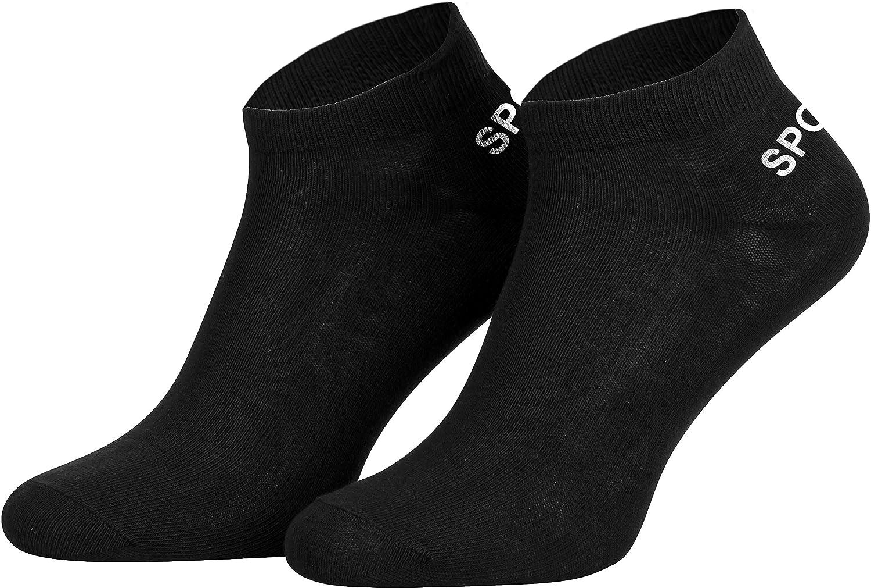 weiße Sneaker Socken FÜßLING aus Baumwolle für Damen ANGEBOT 12 Paar schwarze o