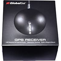 GlobalSat BU-353S4 Cable USB GPS Receiver Module with USB interface G Mouse Magnetic (SiRF Star IV) Aadhar Card