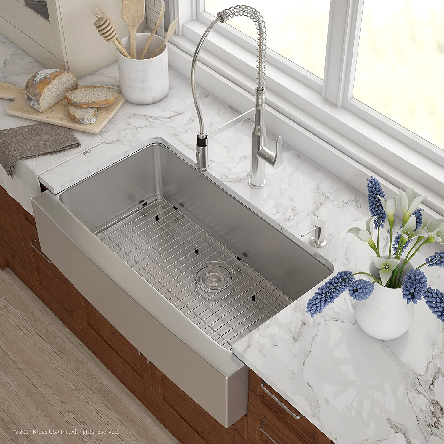 Best Stainless Steel Farmhouse Sink