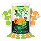 Natural Mosquito Repellent Patches By ECOTRONIK® – Deet-Free Insect Repelling Stickers For Kids & Adults With Pure Essential Oils, Non-Toxic, Hypoallergenic & Long Lasting Bug Protection – 100 Stickers - KEEP MOSQUITOES AWAY NOW!