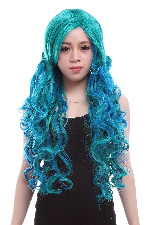 Teal Green Wig