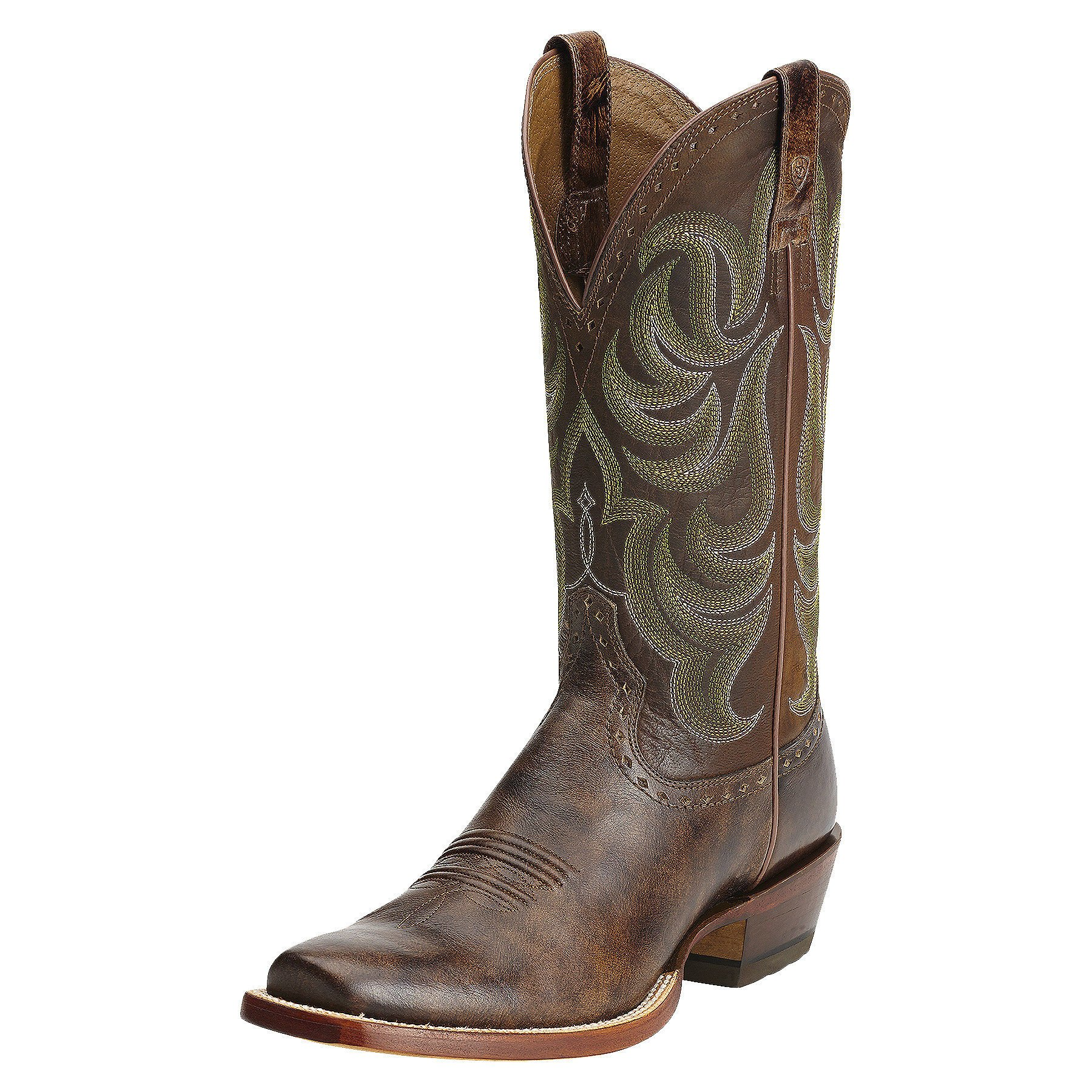 Ariat Men's Turnback Western Cowboy Boot, Buckskin, 12 M US