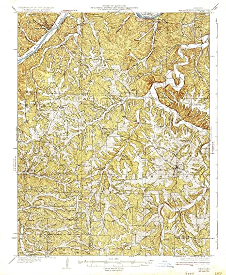 Amazon Com Yellowmaps Iberia Mo Topo Map 1 62500 Scale 15 X 15
