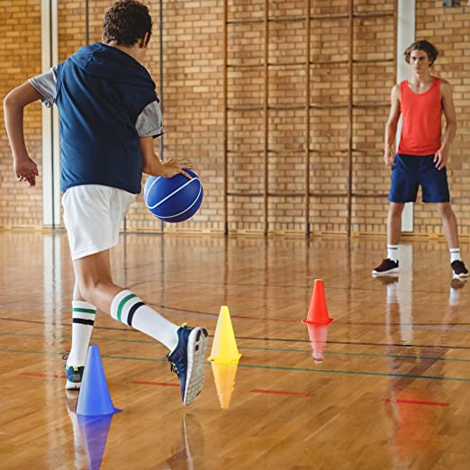 Agility Cones Sports Training Tool For Slalom Skating Football Rugby Traffic////