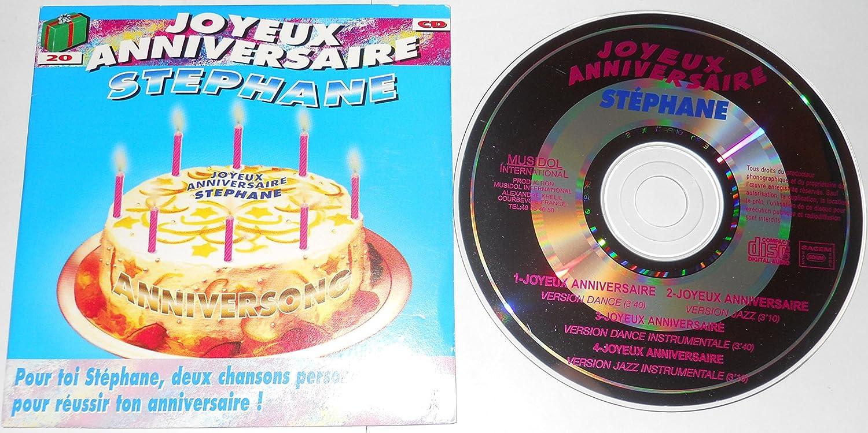Stephane Joyeux Anniversaire Amazon Com Music