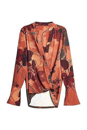 next Mujer Camisa Cruzada
