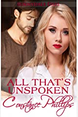 All That's Unspoken (Sunnydale Days Book 1) Kindle Edition