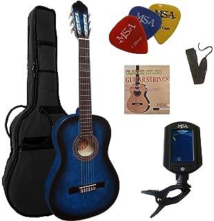 1//4 klassik-Gitarre blau matt