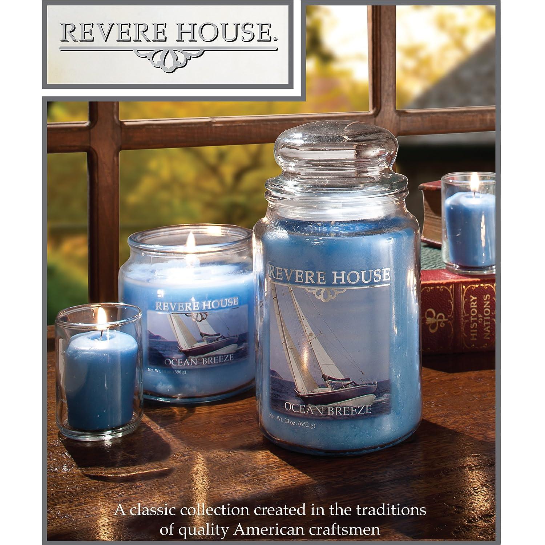 6 x 6 x 9.5 cm Candle-lite Blau Duftkerze im Glas Exotic Midnight Petals 85g
