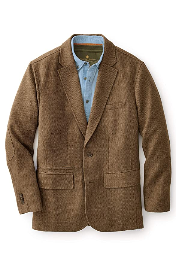 1950s Men's Clothing Territory Ahead Mens Washable Wool Travel Blazer Sport Coat Jacket $279.00 AT vintagedancer.com