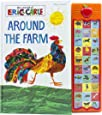 World of Eric Carle, Around the Farm 30-Button Sound Book – Great Alternative to Toys for Christmas- PI Kids (Play-A-Sound)