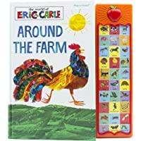 World of Eric Carle, Around the Farm 30-Button Sound Book - PI Kids