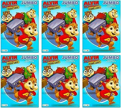 Alvin And The Chipmunks Lot De 6 Livres De Coloriage Et D Activites Alvin Et Les Chipmunks Amazon Fr Jeux Et Jouets