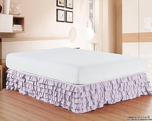 Falda de cama Elegant Comfort de algodón egipcio, resistente a las ...