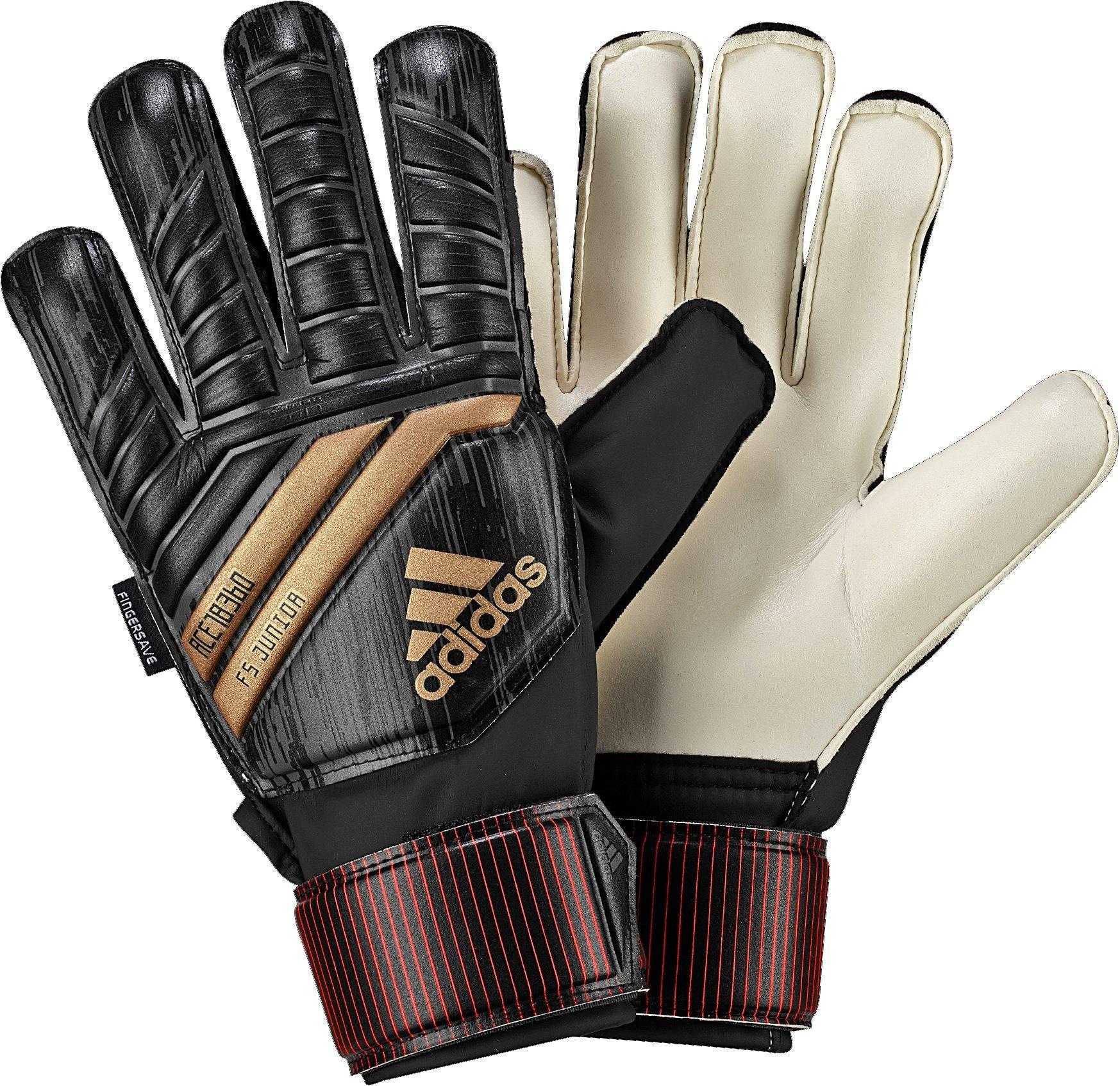 Galleon - Adidas ACE Fingersave Junior Goalie Gloves daa39e4bb290
