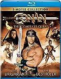 Conan: The Complete Quest (Conan the Barbarian / Conan the Destroyer) [Blu-ray]