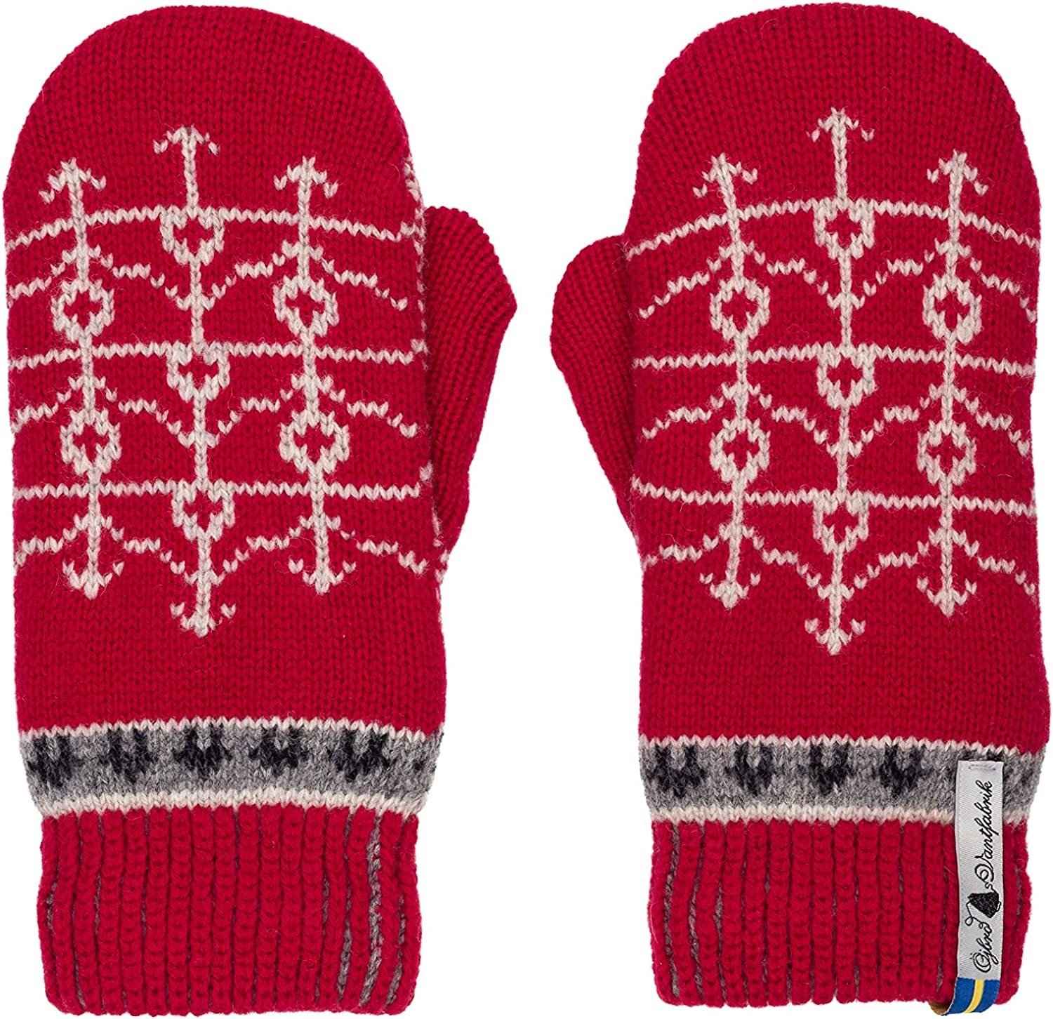 Öjbro Swedish made 100% Merino Wool Soft Thick & Extremely Warm Mittens (as Featured by the Raynauds Assn) at  Women's Clothing store