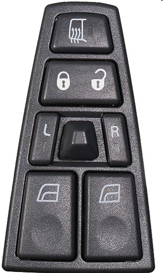 Models With Power Door Locks, Replaces 21543897, 21354601, 20752918 Mirror /& Door Lock Switch Fits FH12 FM HD Truck 2011-2015 Volvo VAH 04-15 VHD 04-17 VNL 04-14 VT APDTY 138513 Power Window