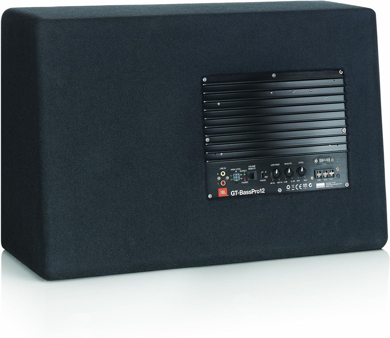 300mm JBL GT-BassPro12 12-Inch black Car Audio Powered Subwoofer System