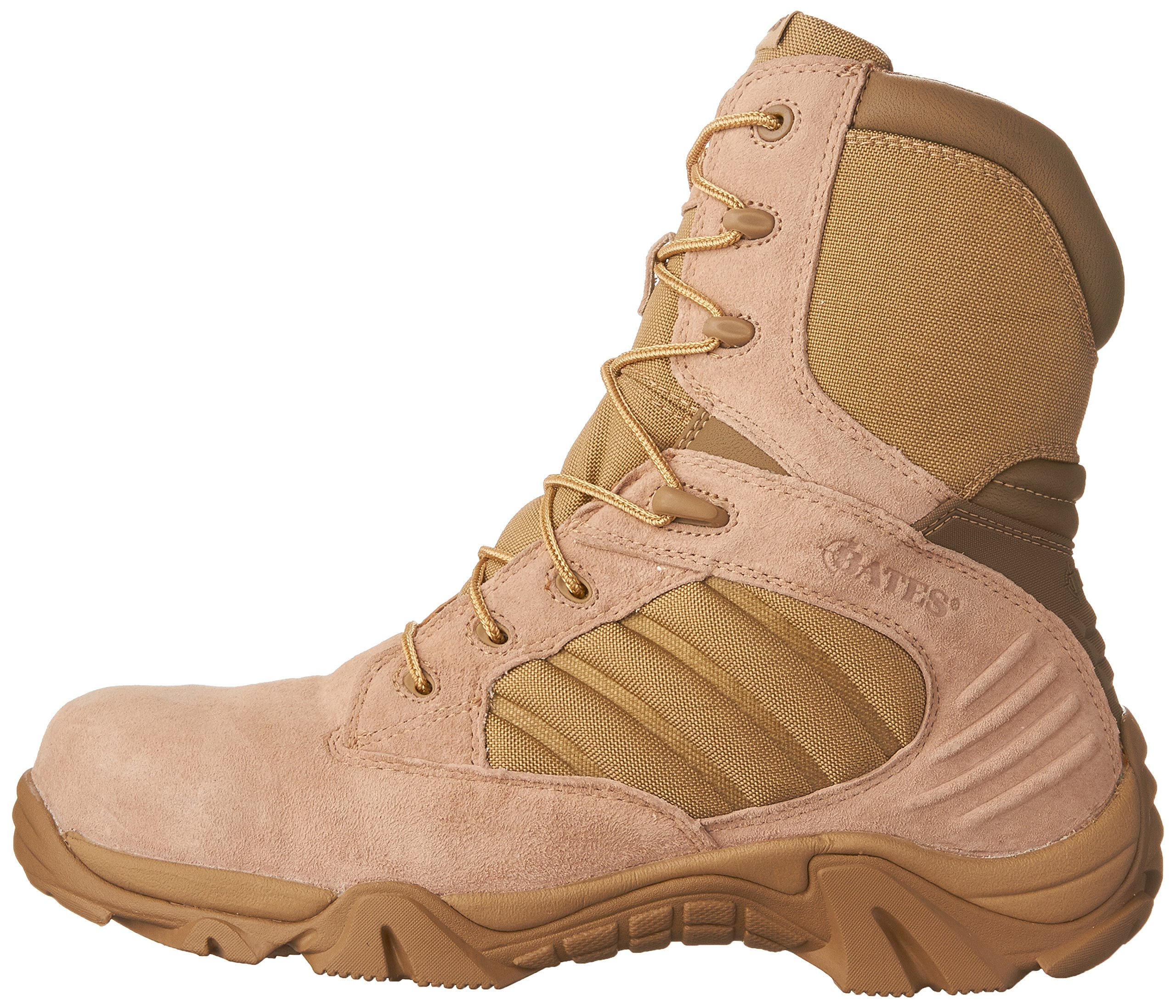 ac42589ac89 Bates Men's GX-8 Comp Toe Side Zip Work Boot - GX-8 SAGE 8