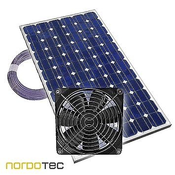 """Ventilador de invernadero Ventilador solar """"Plug & Play"""" Ventilador Invernadero solar, ..."""