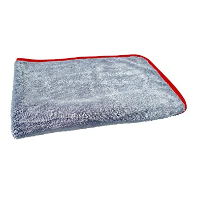 Redline Finish - The One Ultimate Microfiber Drying Towel - Extra Large 37 x 30 inches, Faster Drying, Scratch Free Drying: Automotive