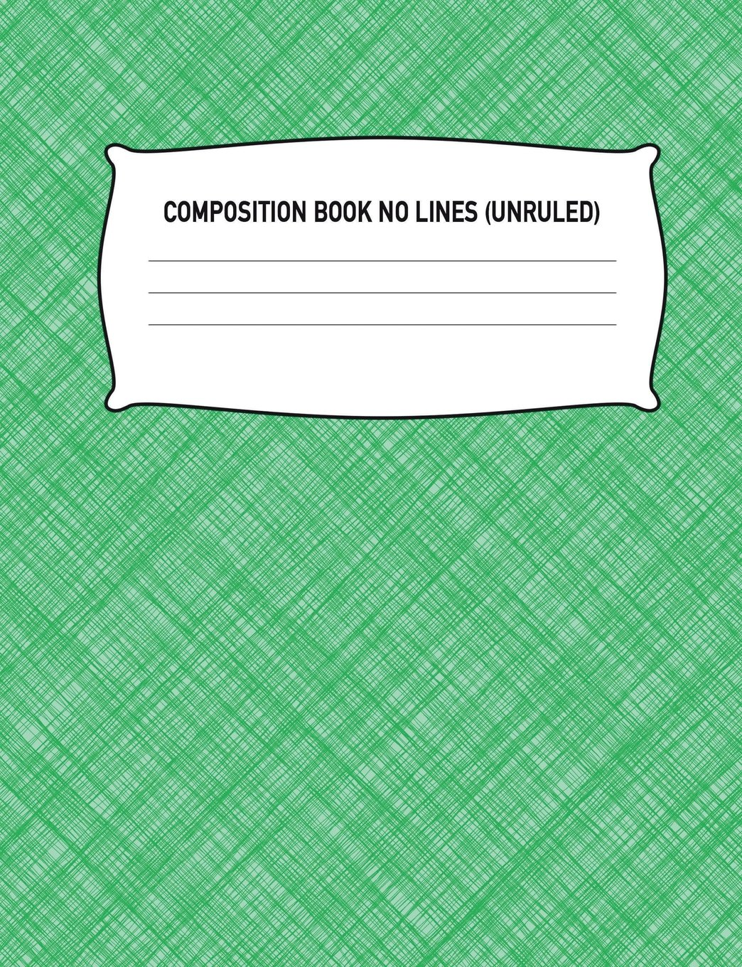 Download Composition Book No Lines (Unruled): Blank Sketch Pad Drawing Notebook: Light Green Sketchbook Notepad Diary Journal: High School, Middle School, ... 7.44 x 9.69 Paper 100 Pages, Birthday, Gift pdf epub