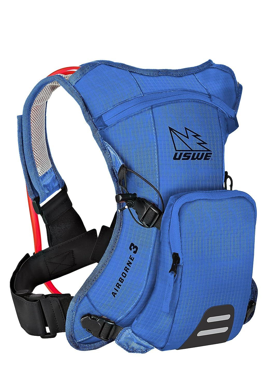 USWE(ユースウィー) AIRBORNE 3 レースブルー ハイドレーションバッグ バックパック B01G34I0Z8