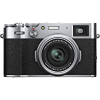 Fujifilm X100V Mirrorless Digital Fujfilm X100V Mirrorless Digital Camera, Silver (16642965)